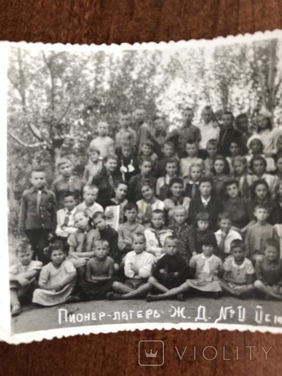 1946 Одесса Пионер лагерь железной дороги, фото №5