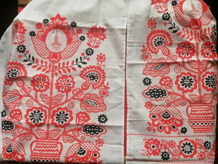 Полотенце, олимпиада-80, фото №2