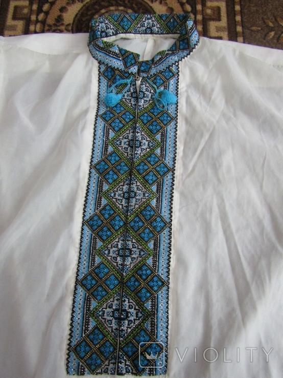 Чоловіча вишита сорочка, фото №3