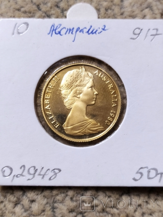 200 долларов 1980г.Коала.Австралия., фото №5