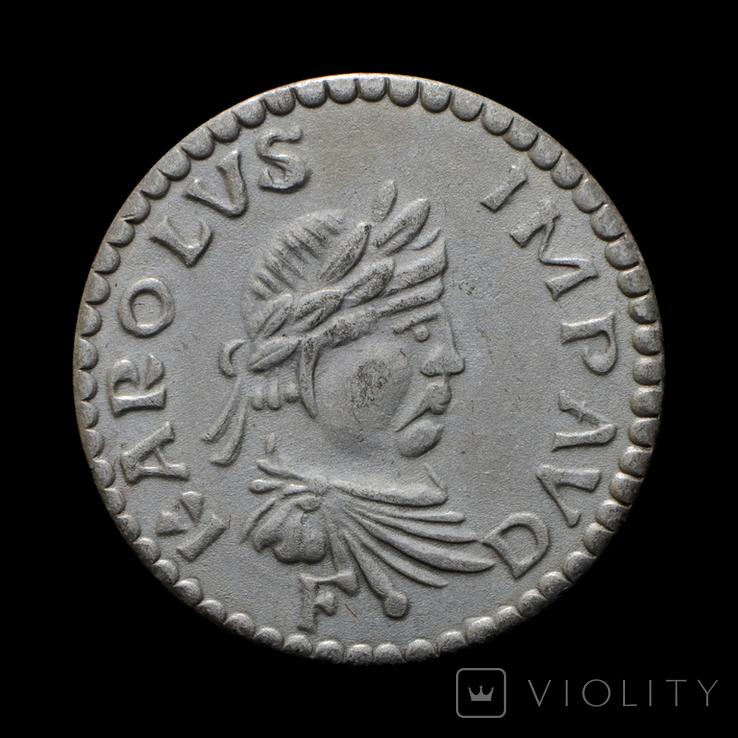 Монета Карла Великого Копия, фото №2