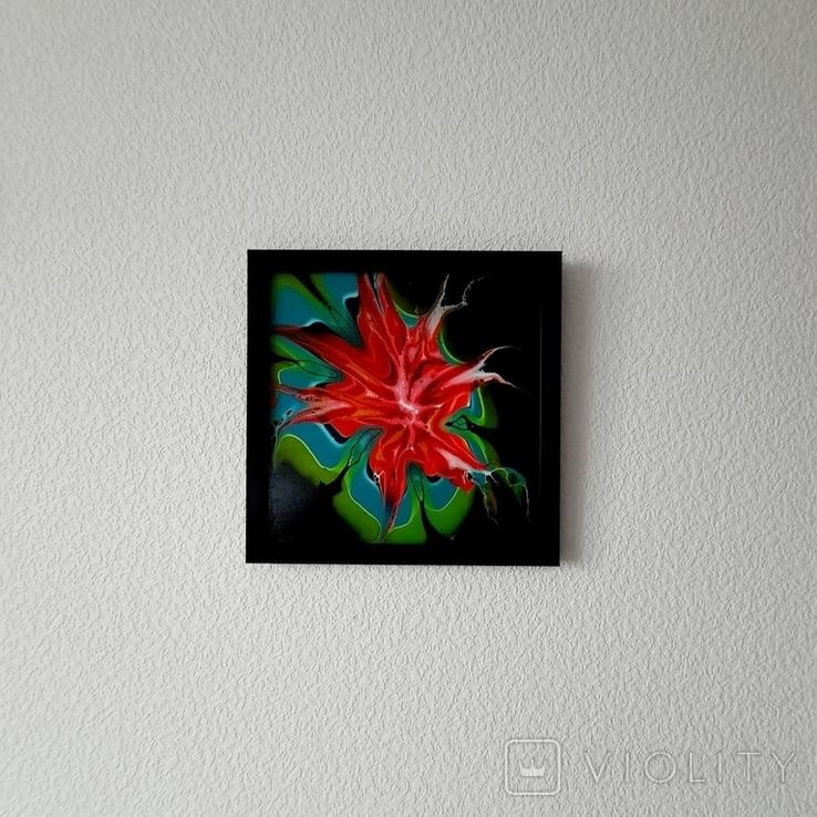 Fluid Art #23 acrylic, фото №8