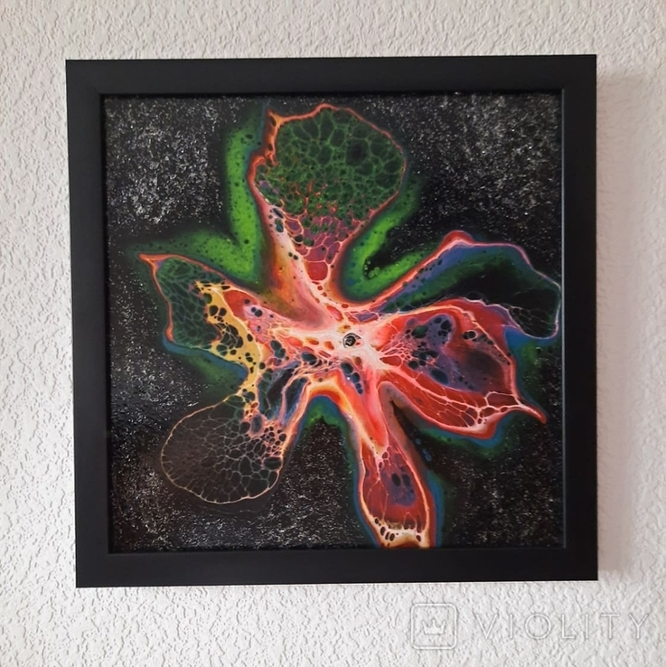 Fluid Art #25 acrylic, фото №12