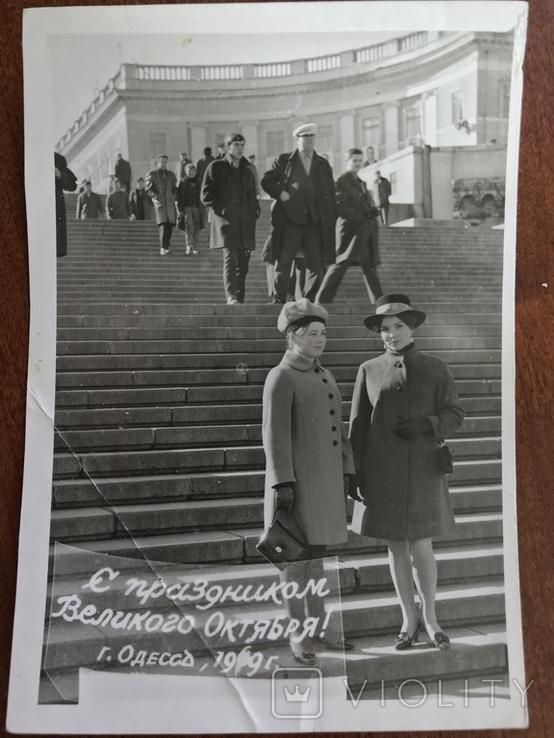 1969 Одесса Мода Шляпки перчатки клатч, фото №3
