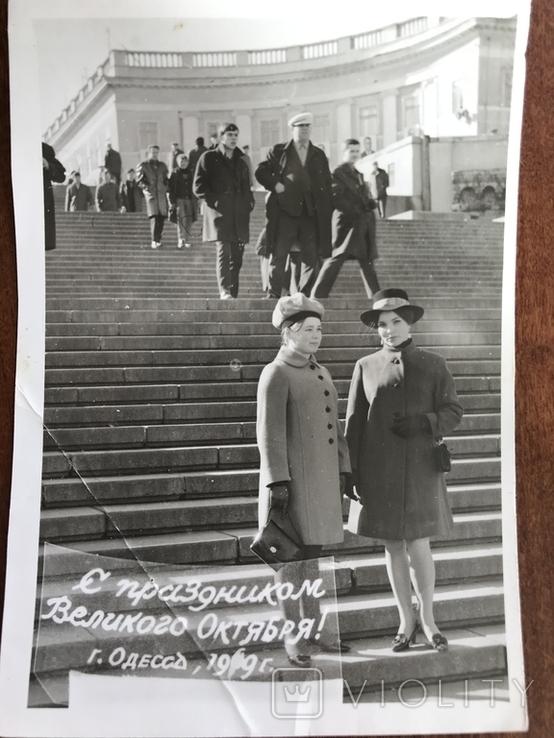 1969 Одесса Мода Шляпки перчатки клатч, фото №7