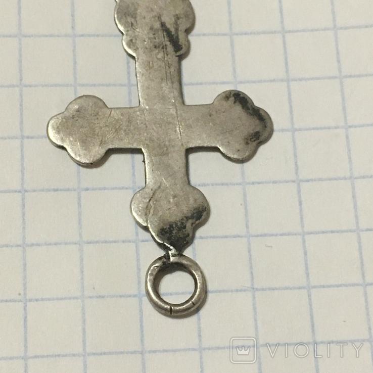 Серебряный крестик, фото №7