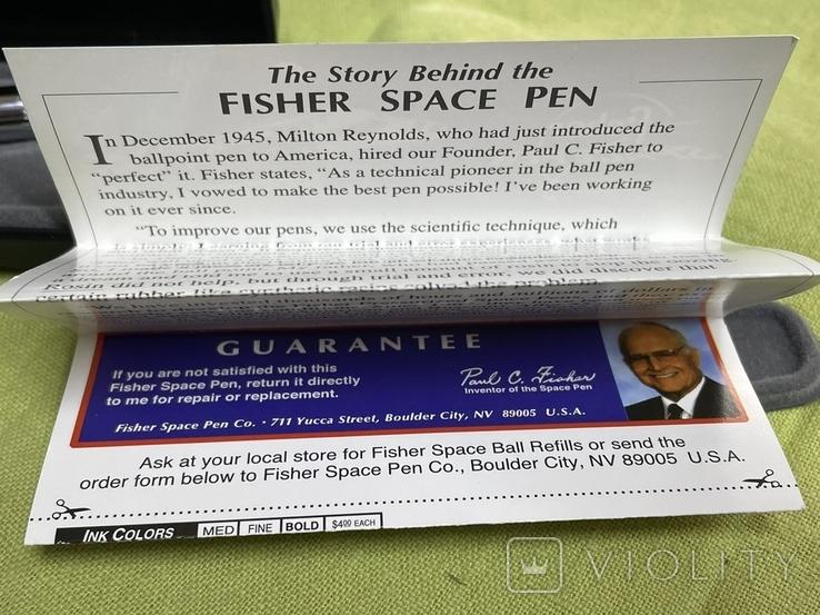 Ручка для работы в космосе Fisher SPACE PEN, фото №9