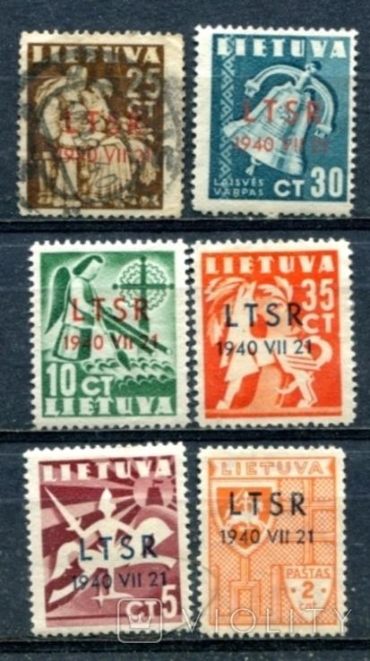 Литва надруки