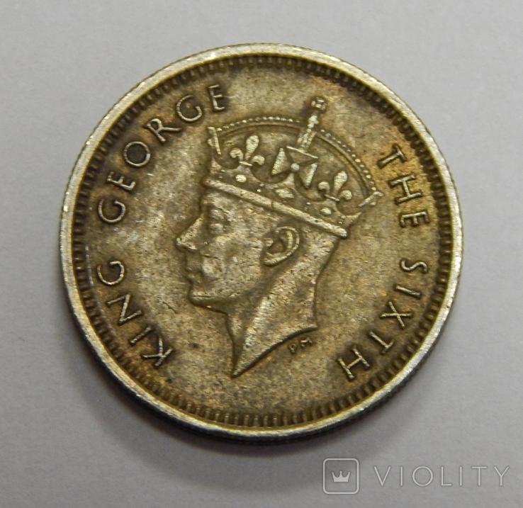 5 центов, 1949 г Гон-Конг, фото №3