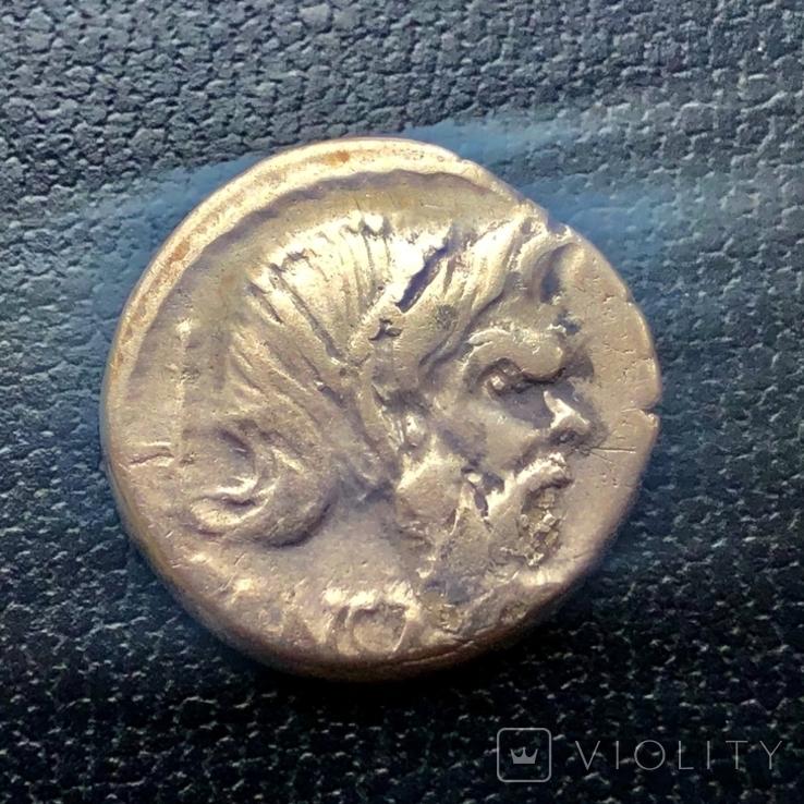 Денарій, 48 р до РХ, C.Vibius Pansa, фото №2