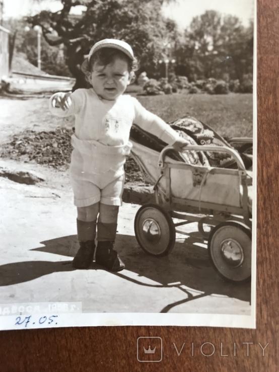 1956 Одесса Коляска Ребёнок, фото №4