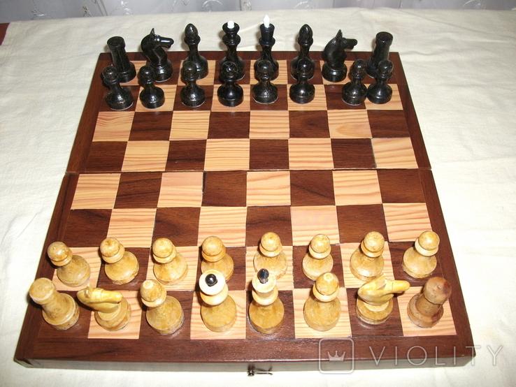 Шахматы дерево ссср, фото №2
