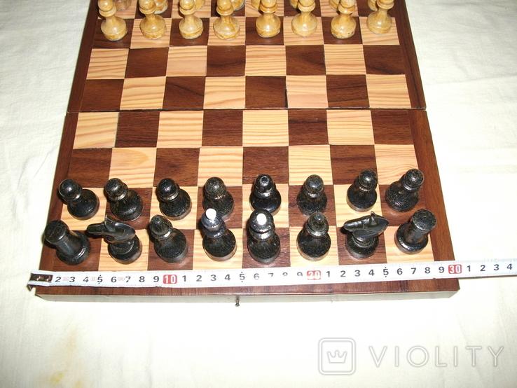 Шахматы дерево ссср, фото №5
