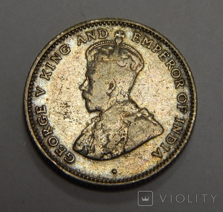 10 центов, 1917 г Стреитс Сеттлмент, фото №3