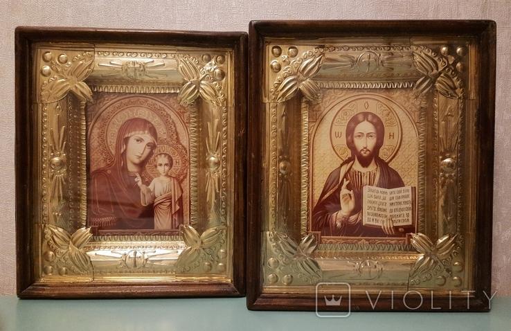Иконы (венчальная пара), фото №3