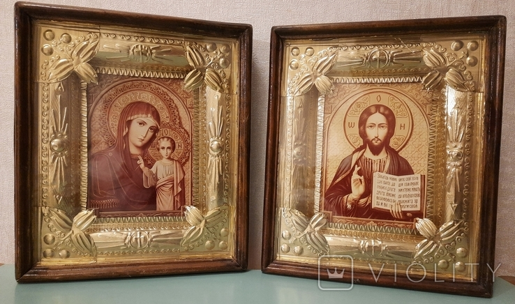 Иконы (венчальная пара), фото №4