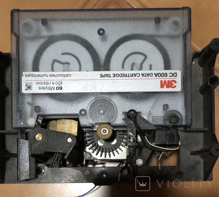Кассета 60Mb 3М с частью привода., фото №2