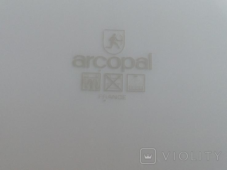 Тарелки плоские столовые Весенние цветы. Arcopal France., фото №10