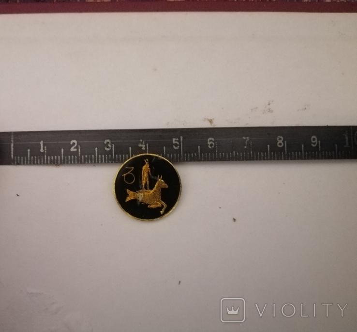 Пуговица со знаком зодиака, фото №3