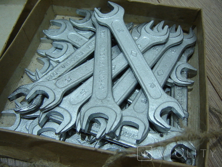 Ключи гаечные 12 х 14 в коробке 22 шт., фото №7