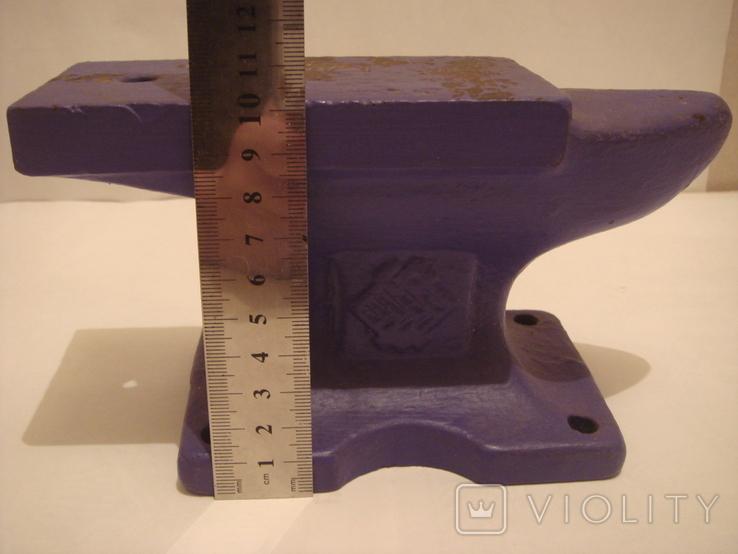 Наковальня малая. СССР 4 кг. Клеймо., фото №6