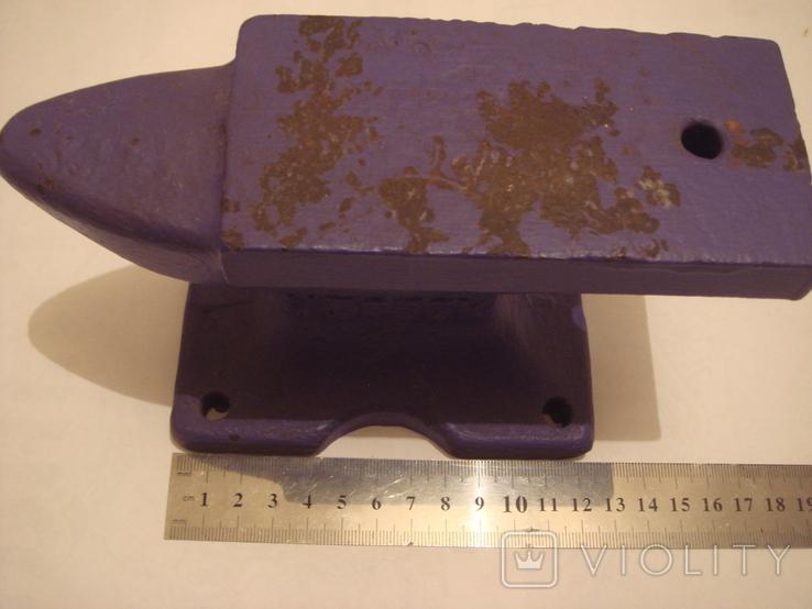 Наковальня малая. СССР 4 кг. Клеймо., фото №9
