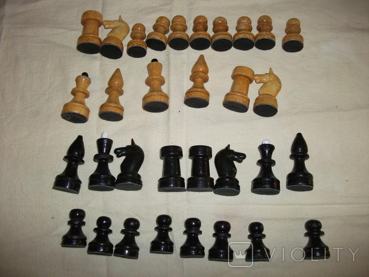 Шахматы ссср дерево, фото №6