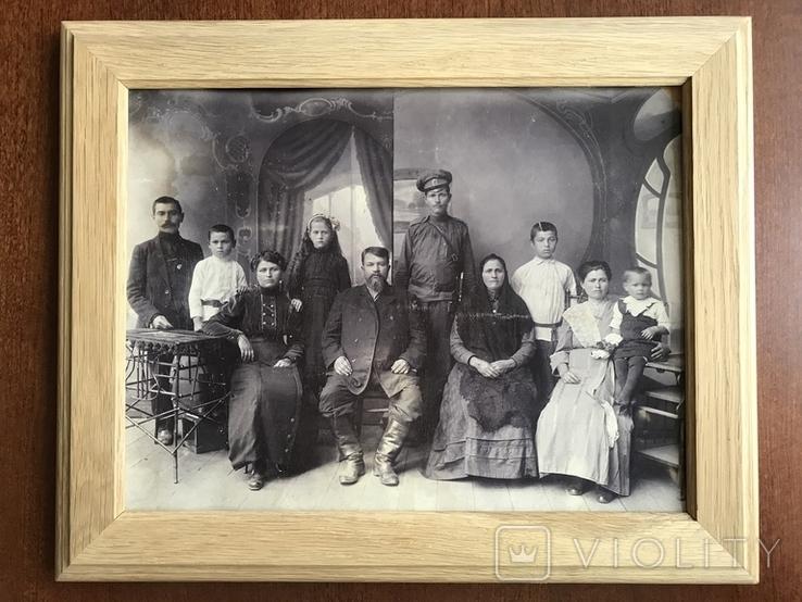 1917 Старое фото Семья, фото №3