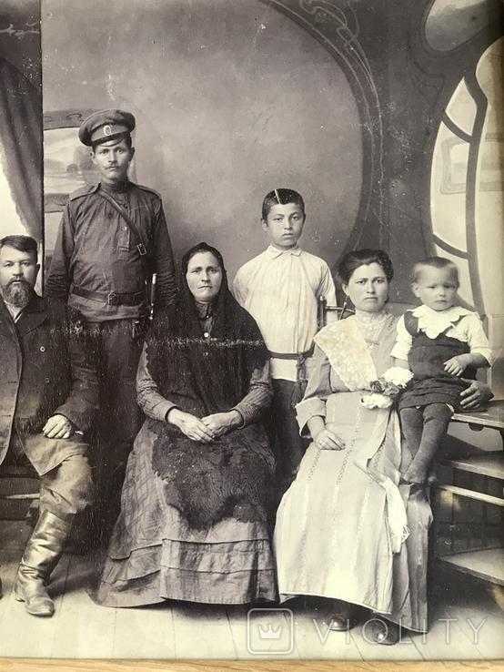 1917 Старое фото Семья, фото №6