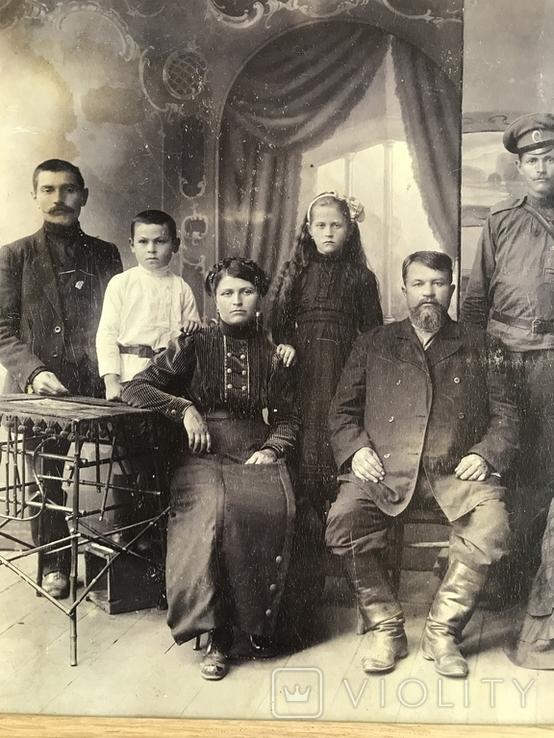 1917 Старое фото Семья, фото №11