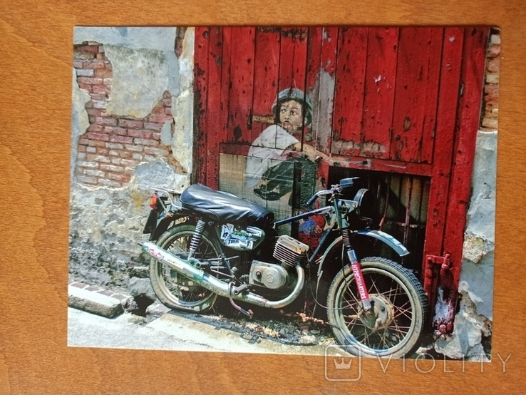 Мотоцикл, отпечатано Канада, фото №2