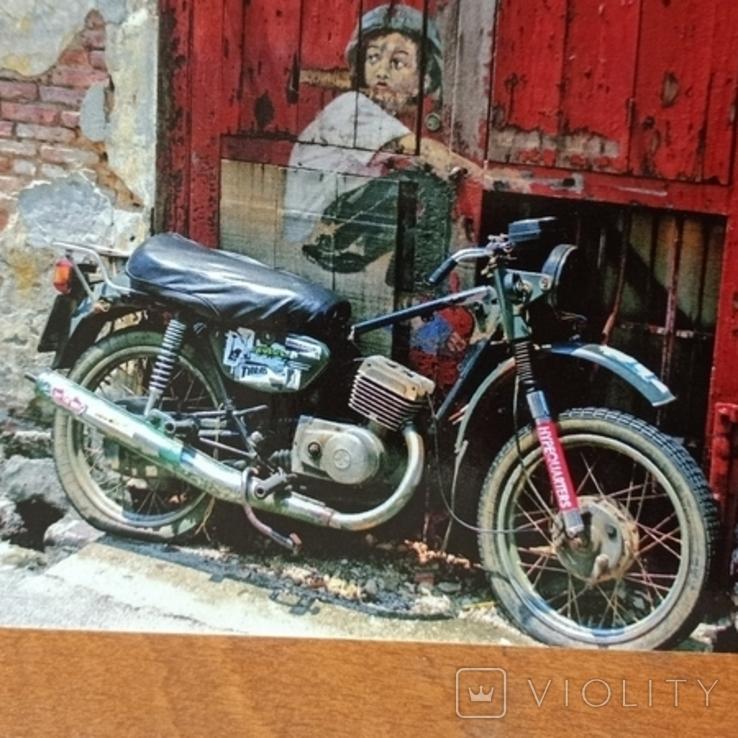 Мотоцикл, отпечатано Канада, фото №4