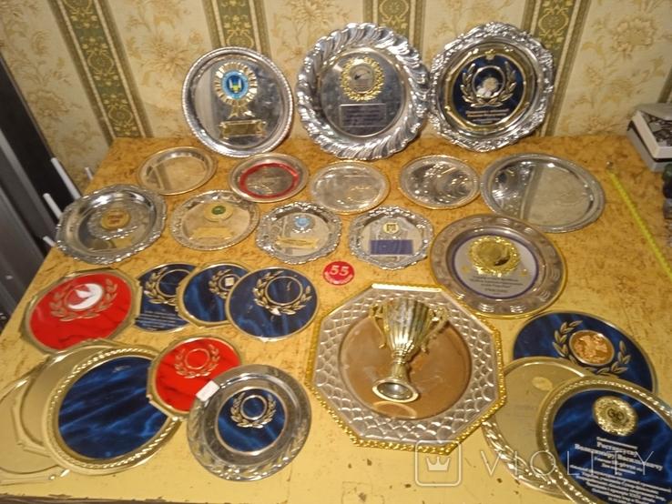 Призовые тарелки и Кубок, фото №2