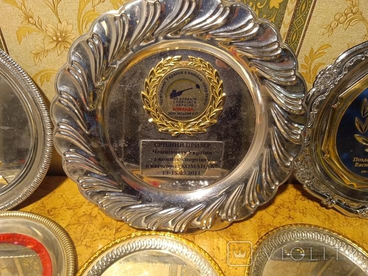 Призовые тарелки и Кубок, фото №4