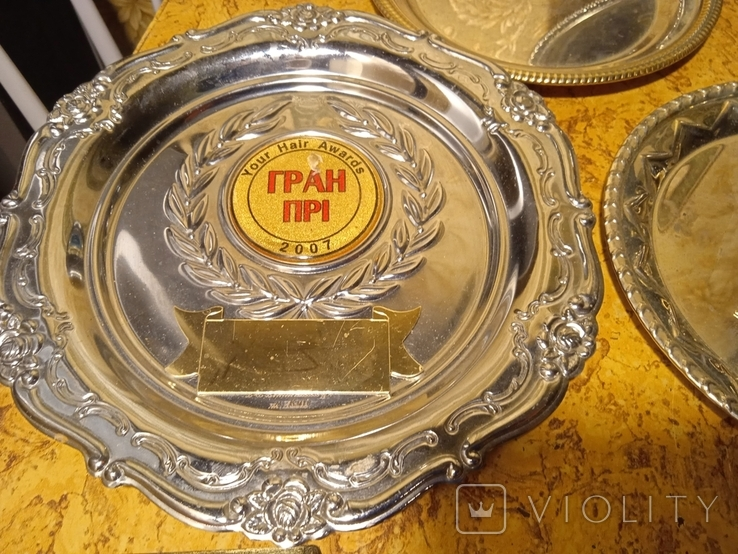 Призовые тарелки и Кубок, фото №6