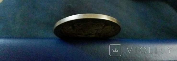 1 дукатон /срібний вершник/ 1760 р. 32,27 грам срібла900 Голандія -копія, фото №6