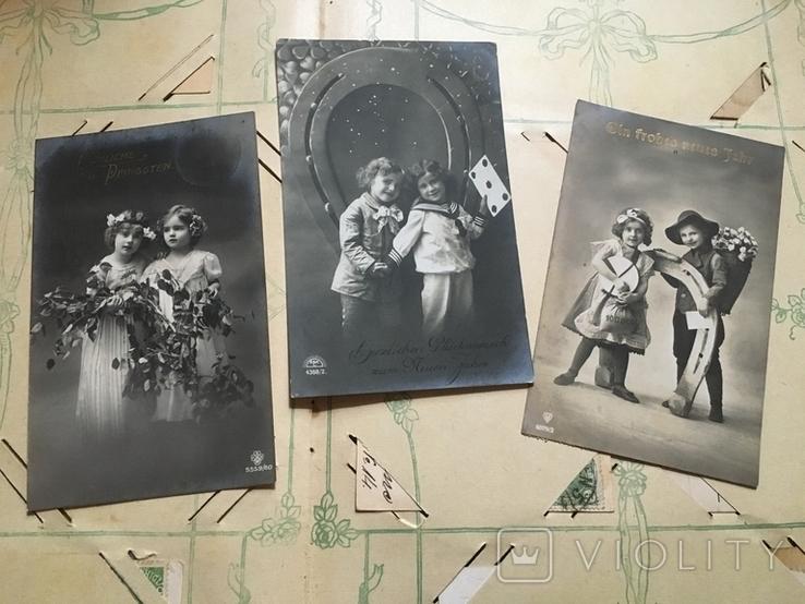 Три поздравительные открытки с детками, фото №2