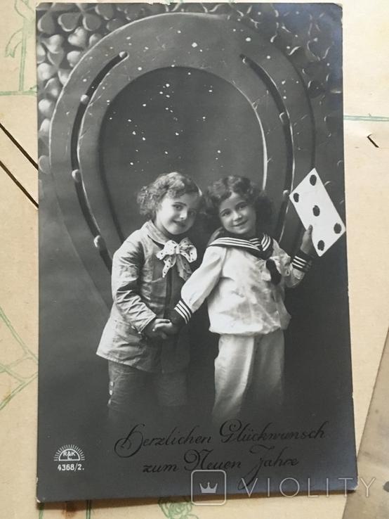 Три поздравительные открытки с детками, фото №5