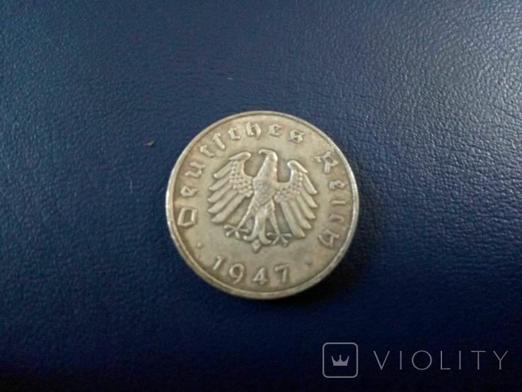 10 пфенінгів 1947 року F / Німеччина- копія рідкісної, фото №2