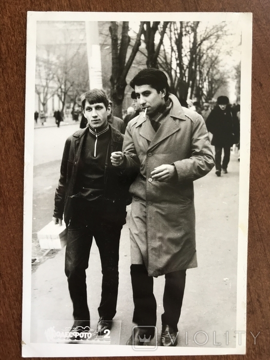 1986 Одесса Парни на улице, фото №2