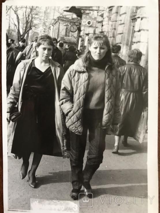 1986 Одесса Девушки на Греческой, фото №6