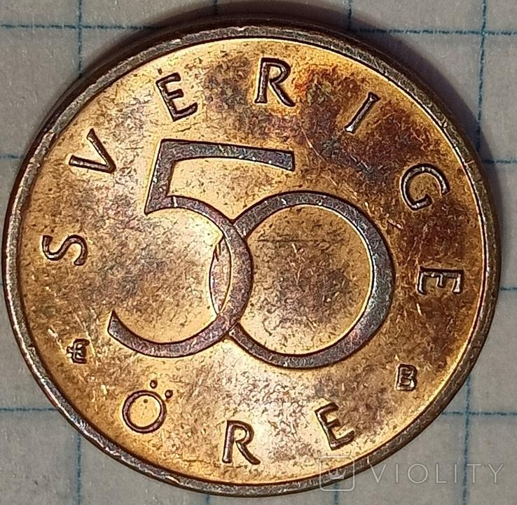 Швеция 50 оре 2002, фото №3