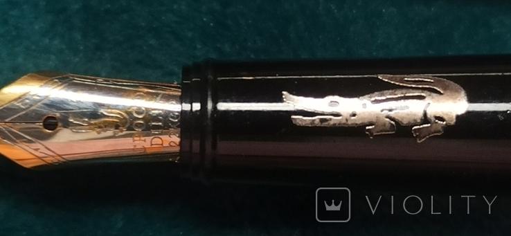Лот Чернильных ручек и шариковых 8 штук, фото №11