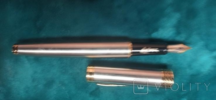 Лот Чернильных ручек и шариковых 8 штук, фото №12