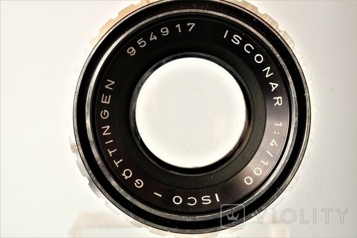Объектив ISCONAR 1:4/100mm-ISCO-GTINGEN для Exakta, фото №4