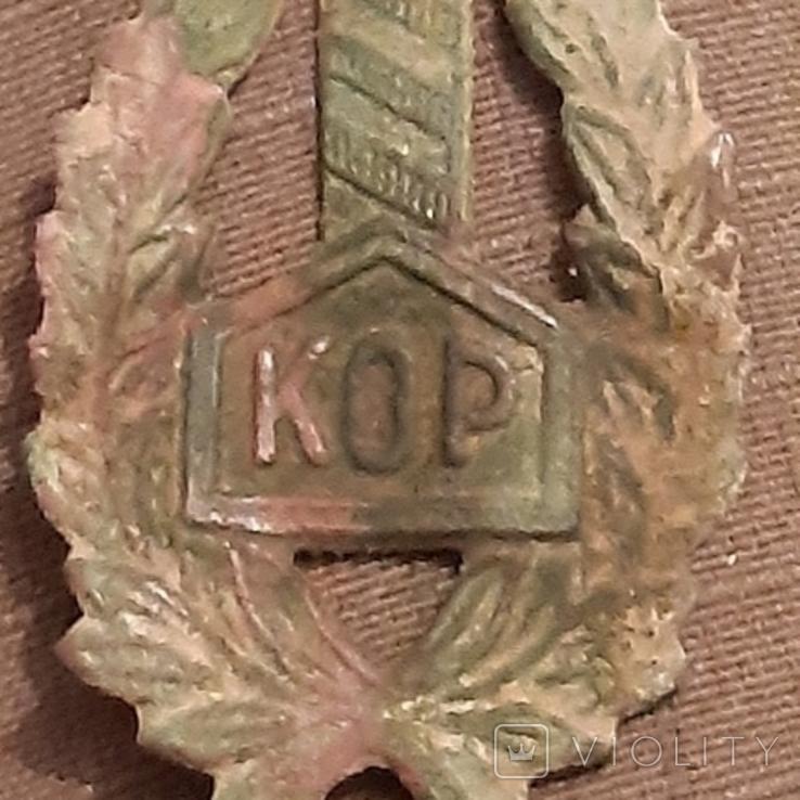 Знак Польского корпуса охраны пограничья (KOP), фото №2