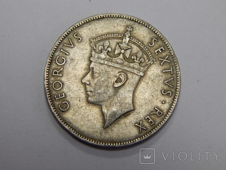 1 шиллинг, 1948 г Британская Африка, фото №3