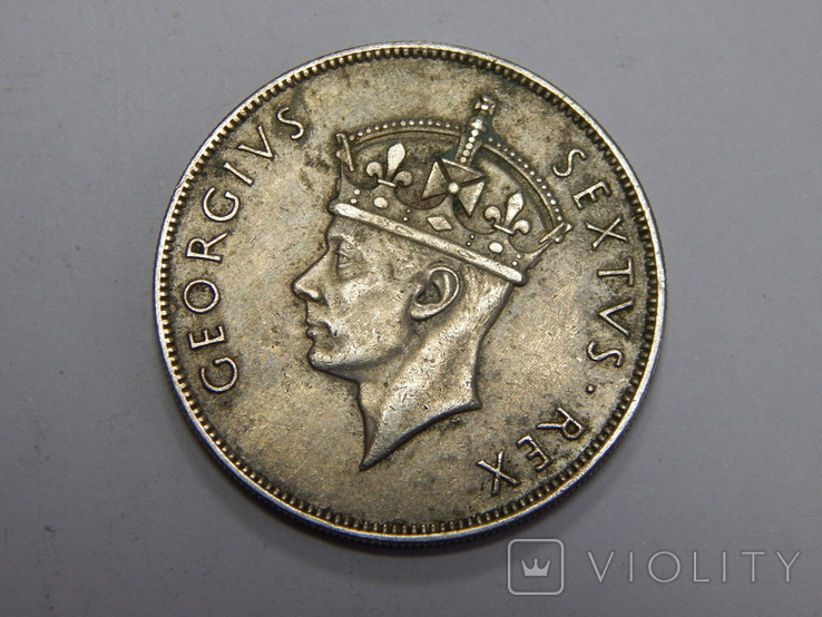 1 шиллинг, 1952 г Британская Африка, фото №3
