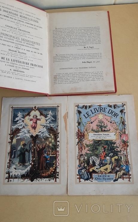 Le Livre d'or. Книга для дітей із вивченям французької мови.1890р., фото №4