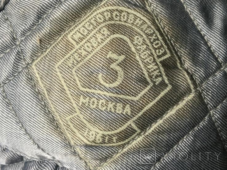 Папаха высшего командного состава ВВС СССР 1961г., фото №10